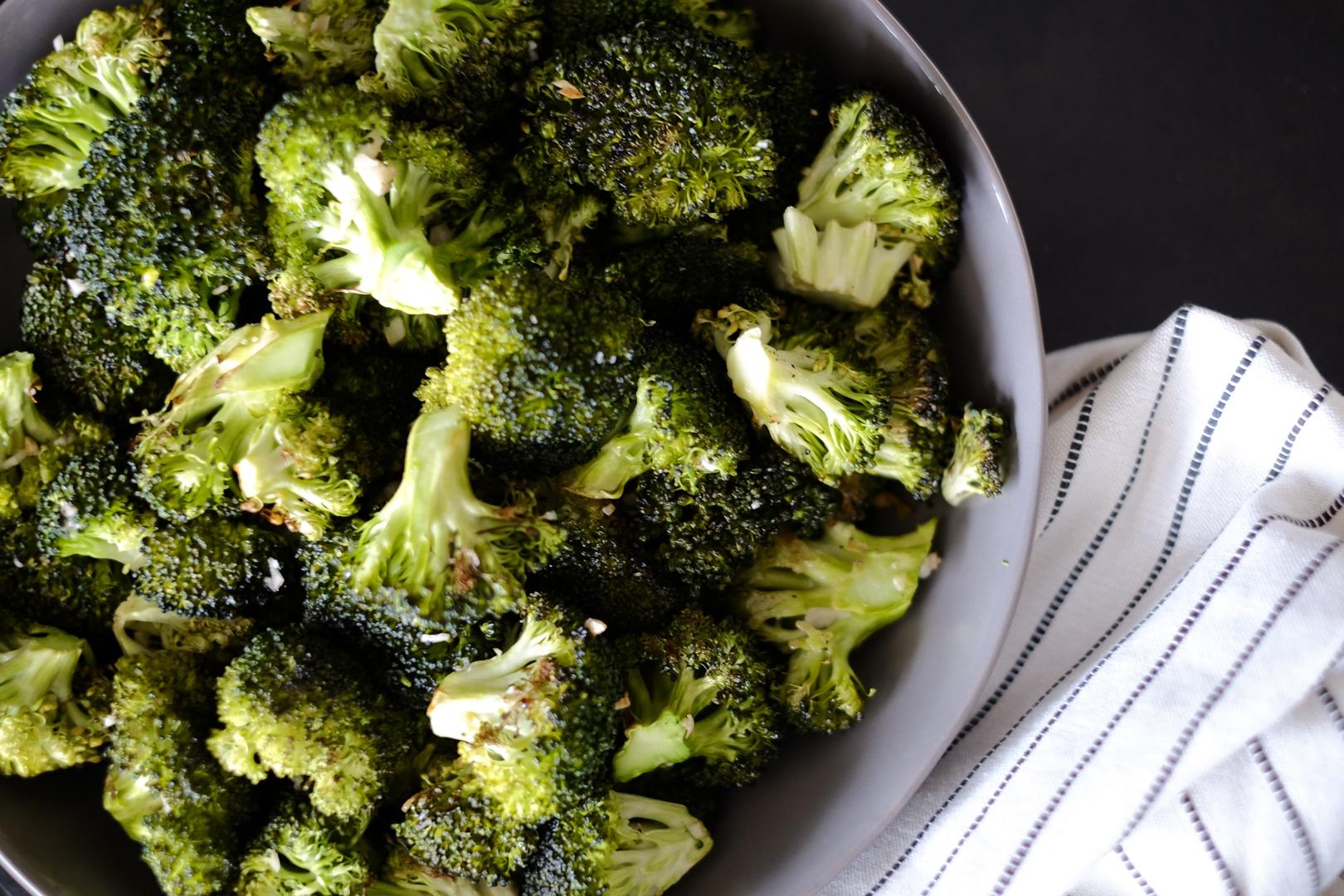 Roasted Broccoli Bowl 2