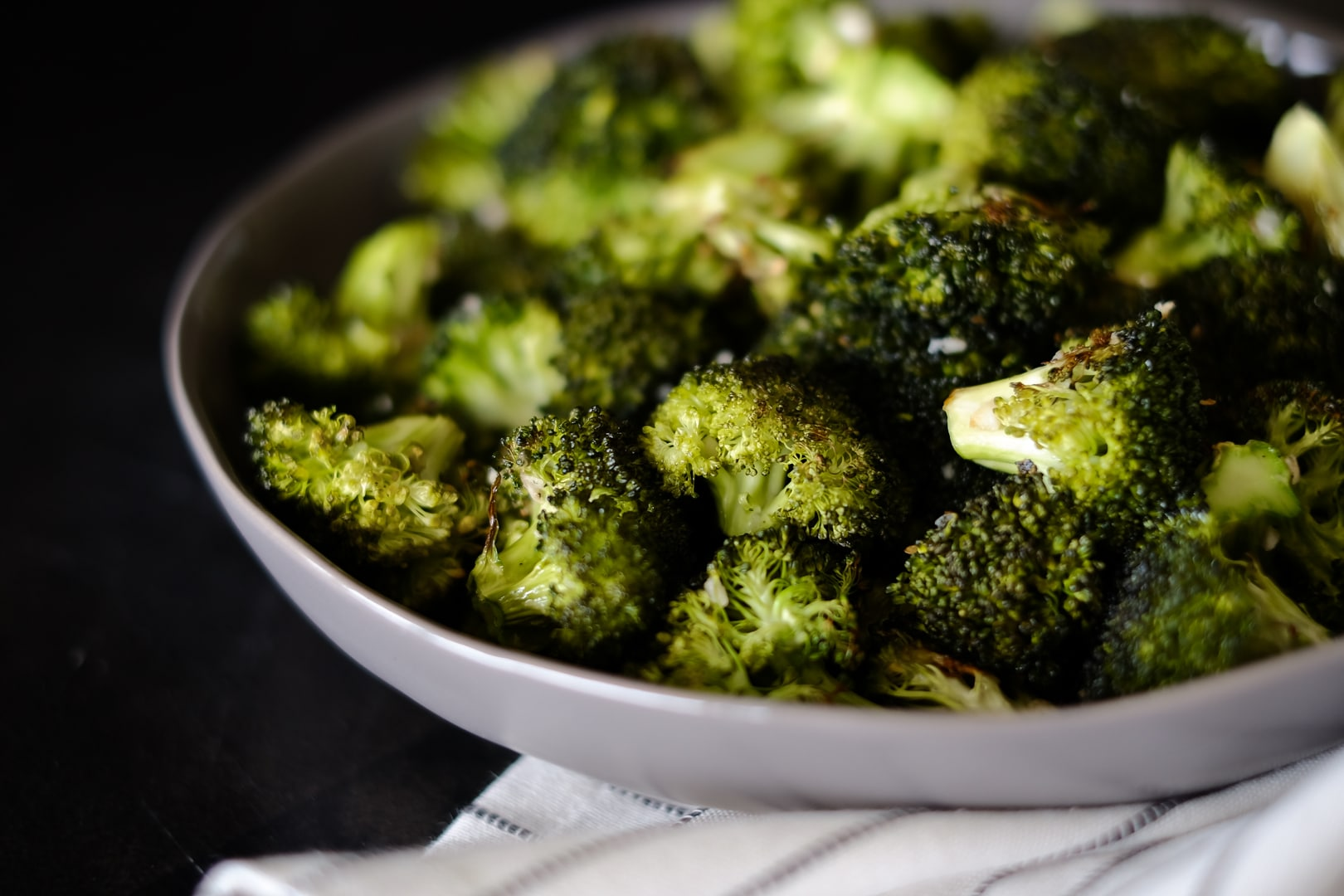 Roasted Broccoli Bowl
