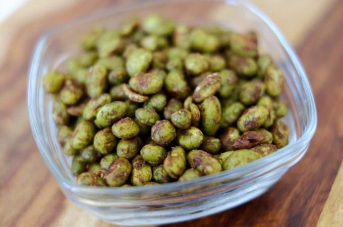 Roasted Edamame with Chinese Five Spice