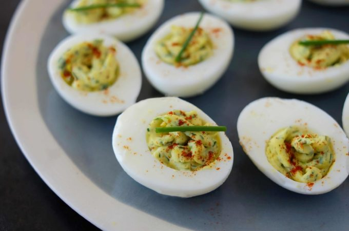 Herbed Deviled Eggs
