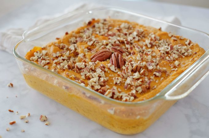 Baked Whipped Sweet Potatoes