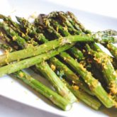 Roasted Asparagus with Orange Zest and Thyme