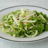 Arugula, Apple and Fennel Salad