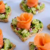Avocado Toast with Smoked Salmon