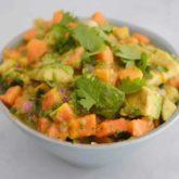 Papaya Avocado Salsa